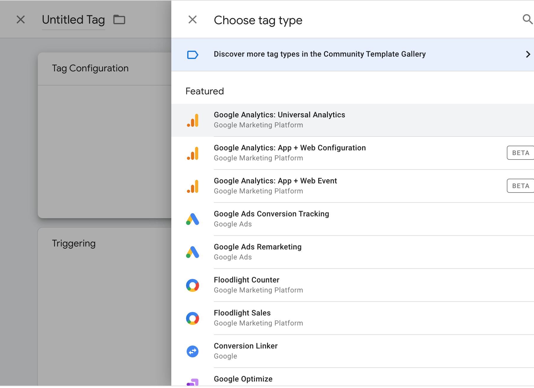 Tag Manager Label your individual tags in a way that is clear to identify.
